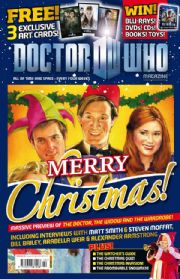 Doctor Who Magazine #442 Christmas Special Free Gift Prints DWM Dr Panini Comics